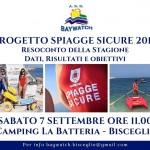 Spiagge Sicure 2019, il 7 settembre il bilancio della stagione