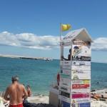 Prima Spiaggia, intervento in mare dell'ASD Baywatch